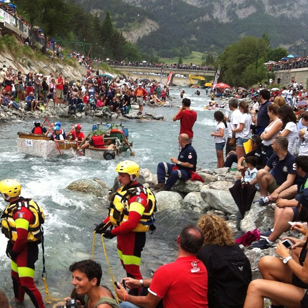 #cesana Carton rapid race...