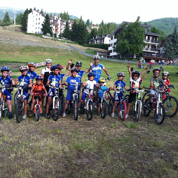 Elisabettas' bikers #sauzedoulx mountain bike team