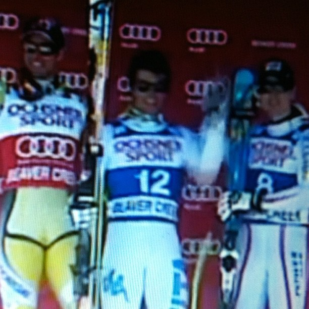 Fantastic win for Matteo Marsaglia, world cup Beaver Creek, hopefully the first of many.Bravo Matteo!!