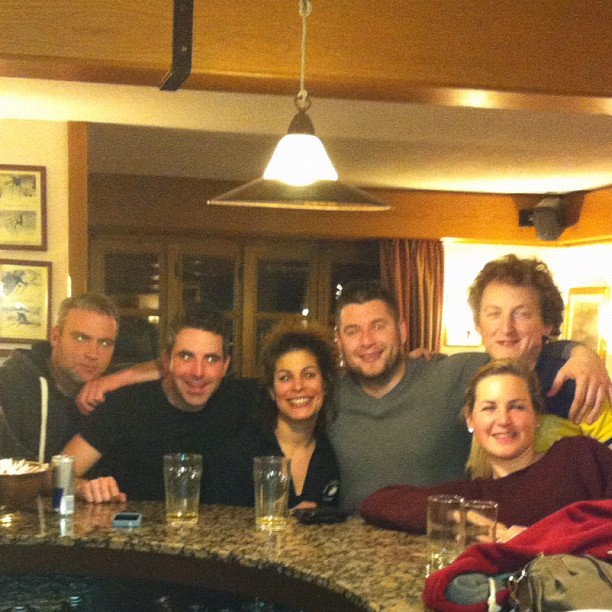 Fantastic bunch of Irish guests, thanks for your company, hope to see you back here soon!