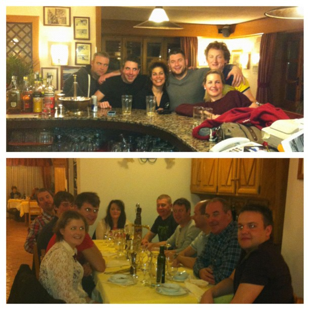 Two great bunches of guests, thanx for staying with us and look forward to seeing you again soon!!!
