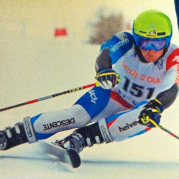 Still on form Simone Eydallin  has gome back to racing !!