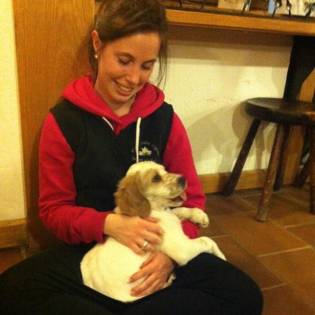 Puppy love !!