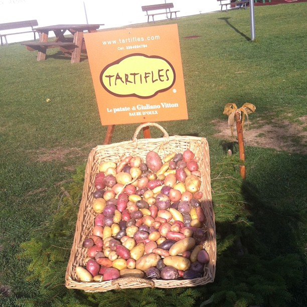 Potato festival in #sauzedoulx. Huge success, we completley sold out!