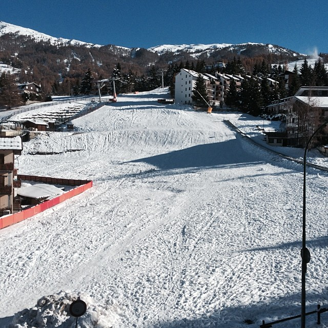 View from the balcony of the #hotelstellalpina , #sauzedoulx