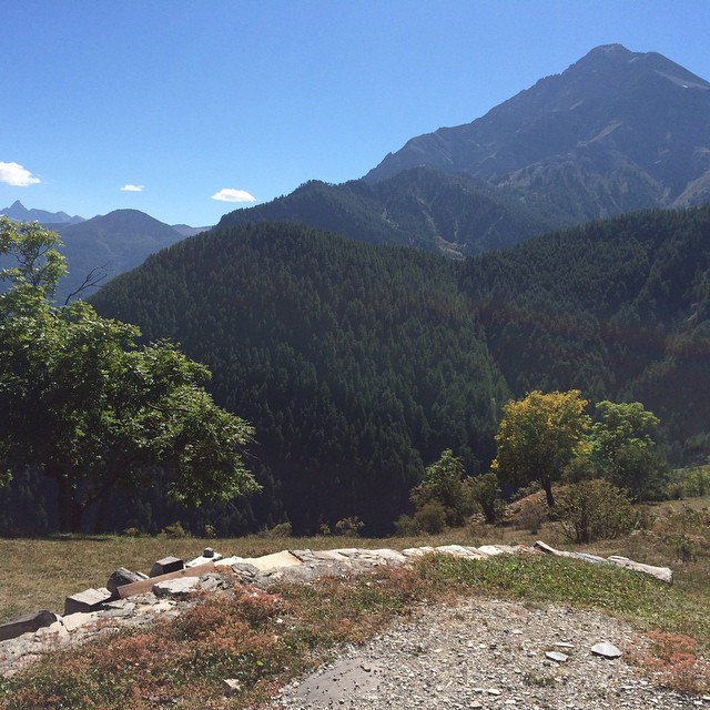 Always one of my favourite views #chaberton taken from #desertes#skisauze