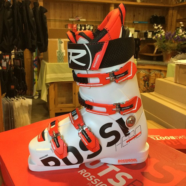 On sale at #eydallinsport #sauzedoulx this winter # Rossignol  Hero boots as worn by the professionals
