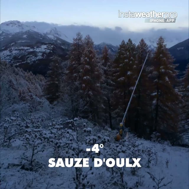 After a few wet slushy days, but with good snow at the top, it has turned cold and very icy here in #sauzedoulx #skisauze which is what we need right now!