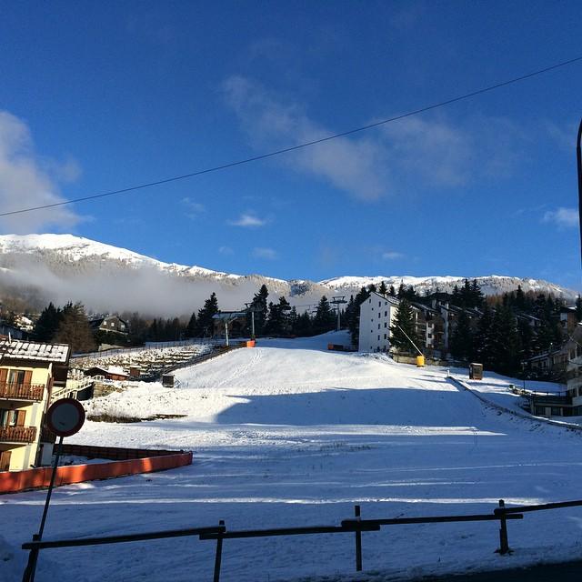 Looking more like winter #stellalpinahotel #skisauze