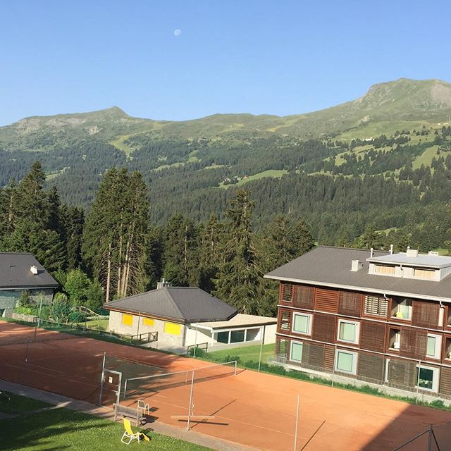 Good morning Lenzerheide #crosscountrymtbworldcup #iotifotibo