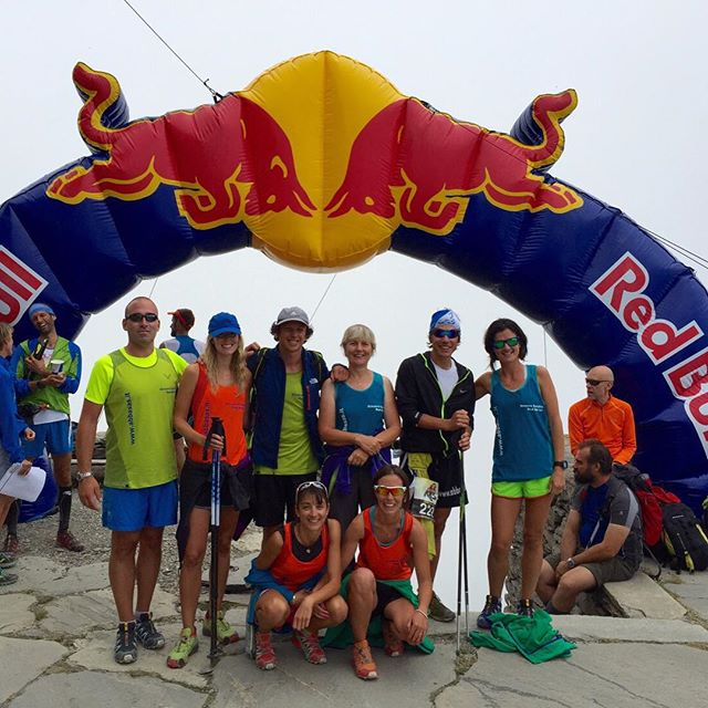 Great team at #cadasti after the Redbull K3 race,  a 10km race but with a height difference of 3000m, Simone finished in 2hrs25min in 16th place suberb result!! Thanks to everyone who was out there supporting him
