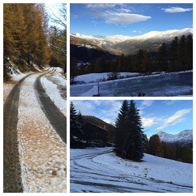 A taste of winter#sauzedoulx #hotelstellalpina #eydallinsport