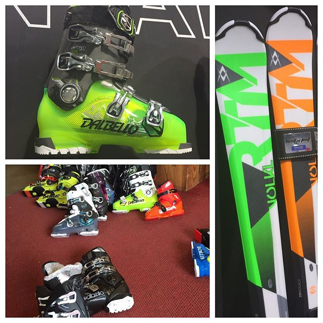 Its that time if the year when we have to finalize stock for next season.... #volklskis and #dalbelloskiboots always high on our shopping list#eydallinsport #hotelstellalpina #sauzedoulx