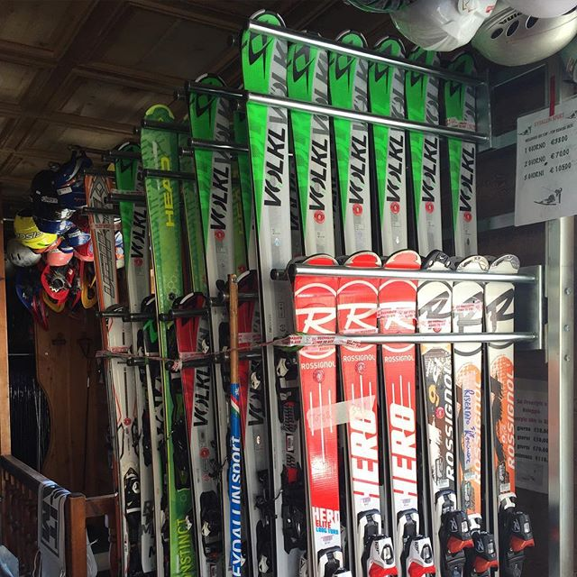 All finished at #eydallinsport for this season, skis back on the racks... Lots of new gear arriving for next year